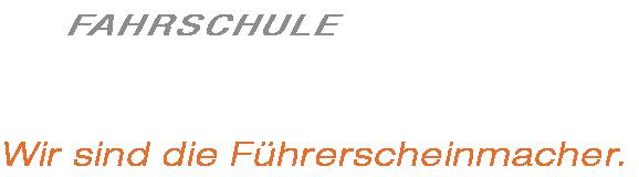 Fahrschule Schwabl Logo